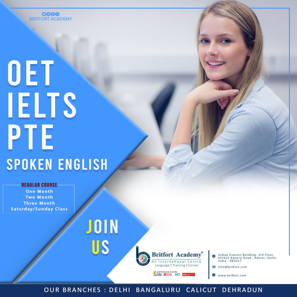 Sign up for our IELTS/OET/PTE training and get the highest score!